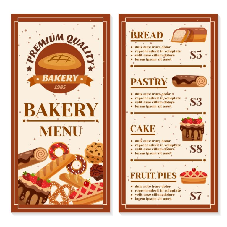 Contoh Brosur Makanan Bahasa Inggris