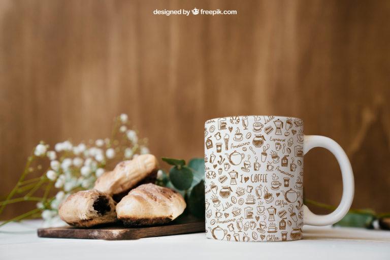 contoh desain mug keren untuk merchandise