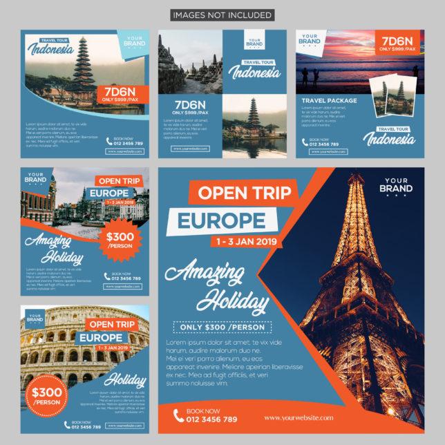 Destinasi Wisata: 4 Aplikasi Untuk Mendesain Brosur Travel